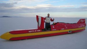 Life at 414 mph: What it takes to be a land speed racer