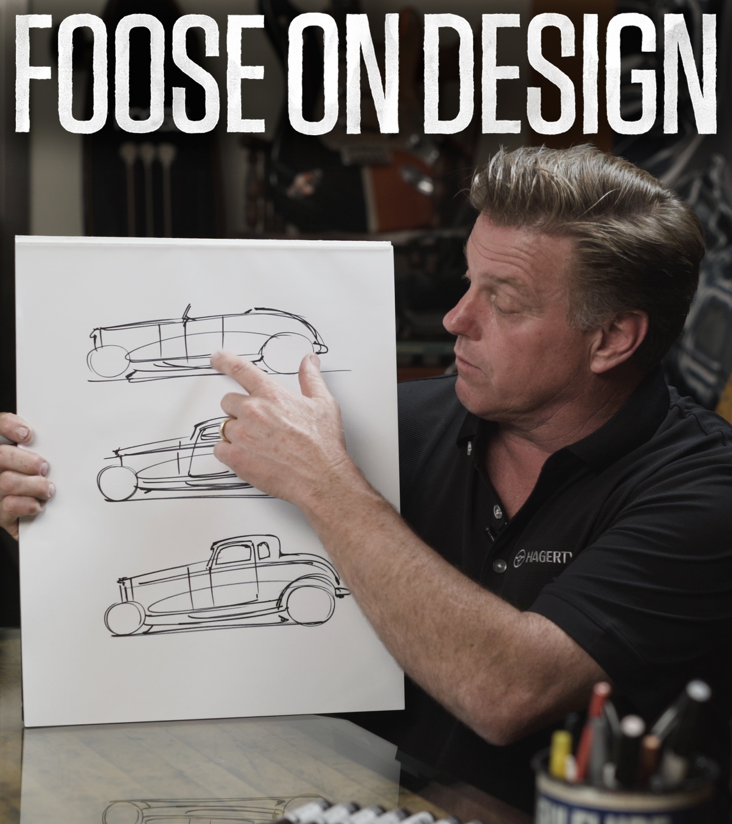 Chip Foose Draws a Car