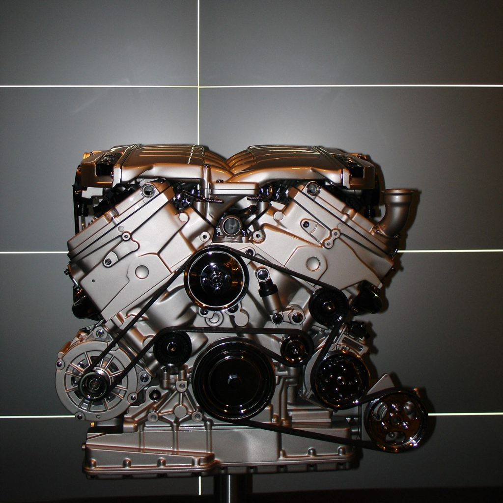 VW Phaeton W12 engine