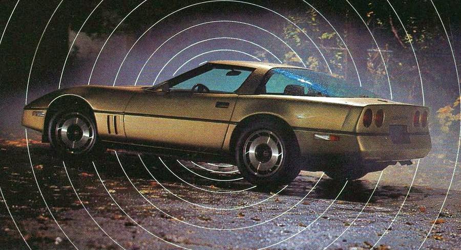 1984 Corvette brochure
