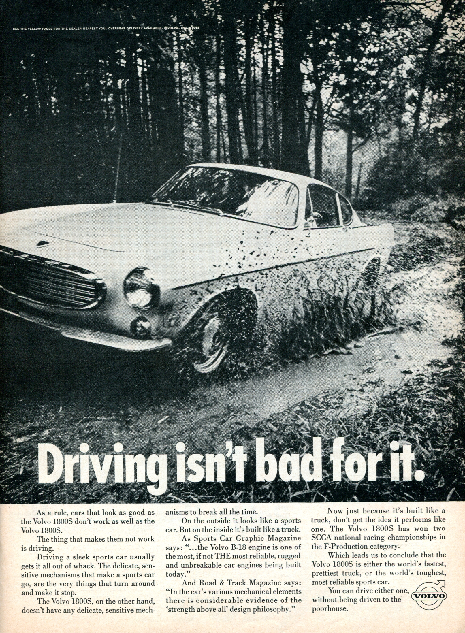 1968 volvo ad 1800S