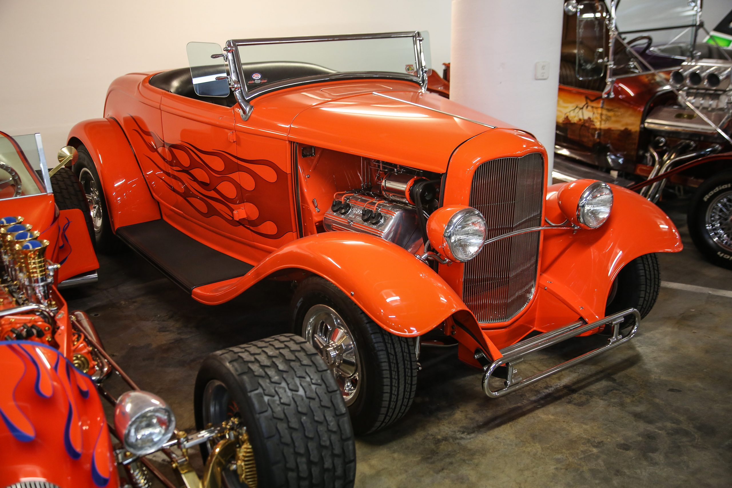 1932 Ford Orange Twist 1988 AMBR winner