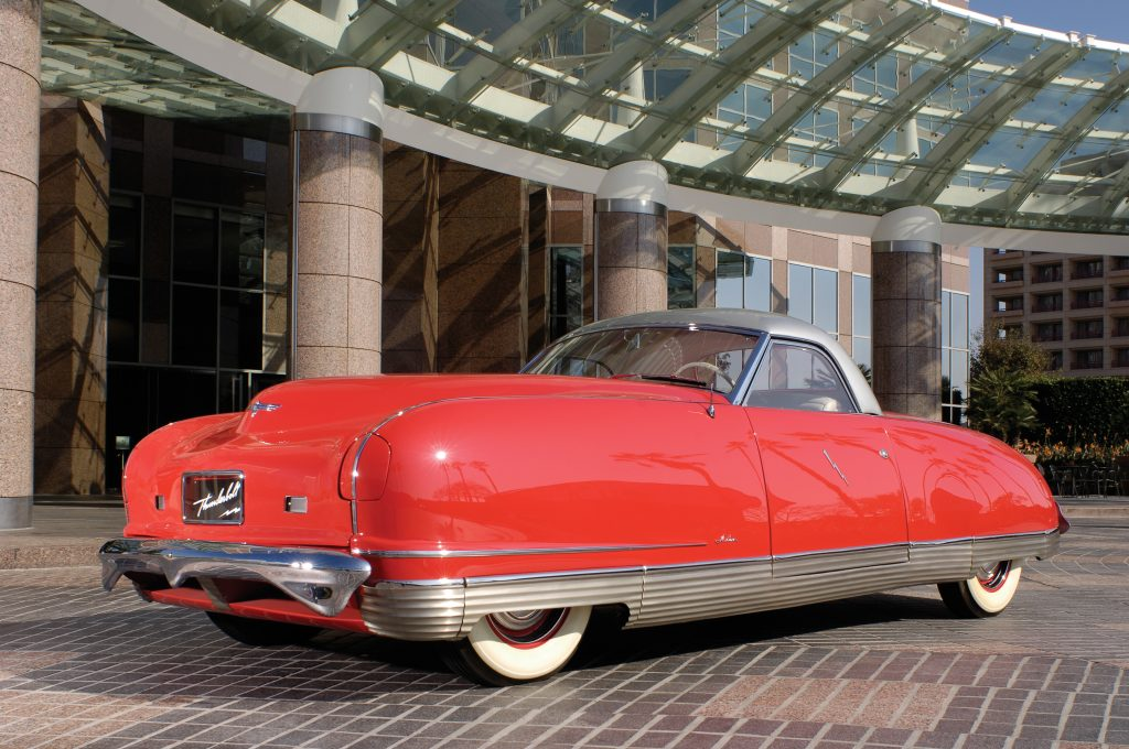 1941 chrysler thunderbolt concept car front three-quarter