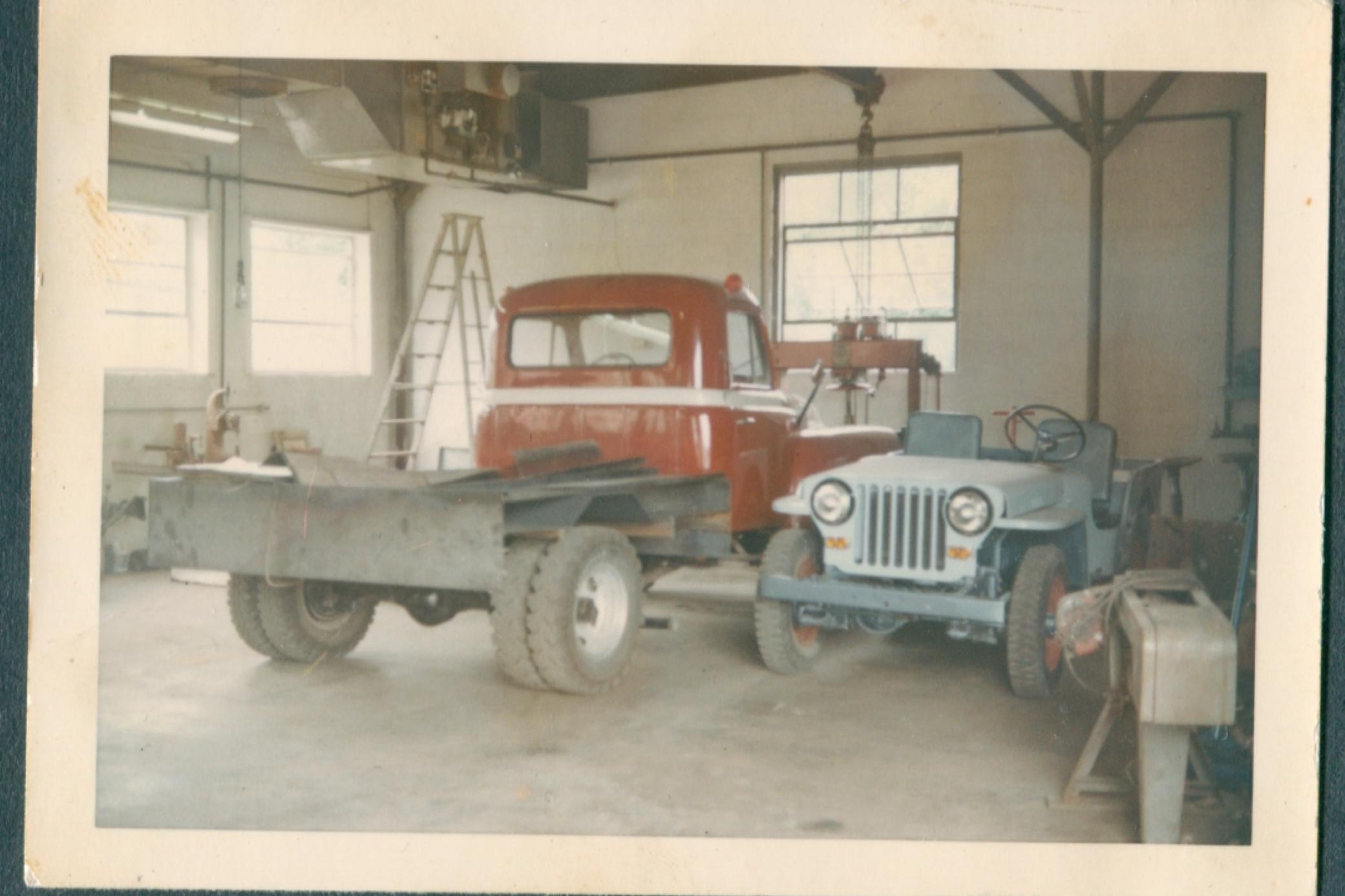1956 international harvester tow truck 2