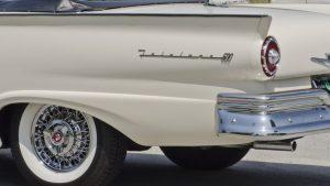 1957 Ford Fairlane 500 Sunliner Lettering