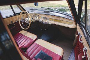 Borgward isabella TS interior