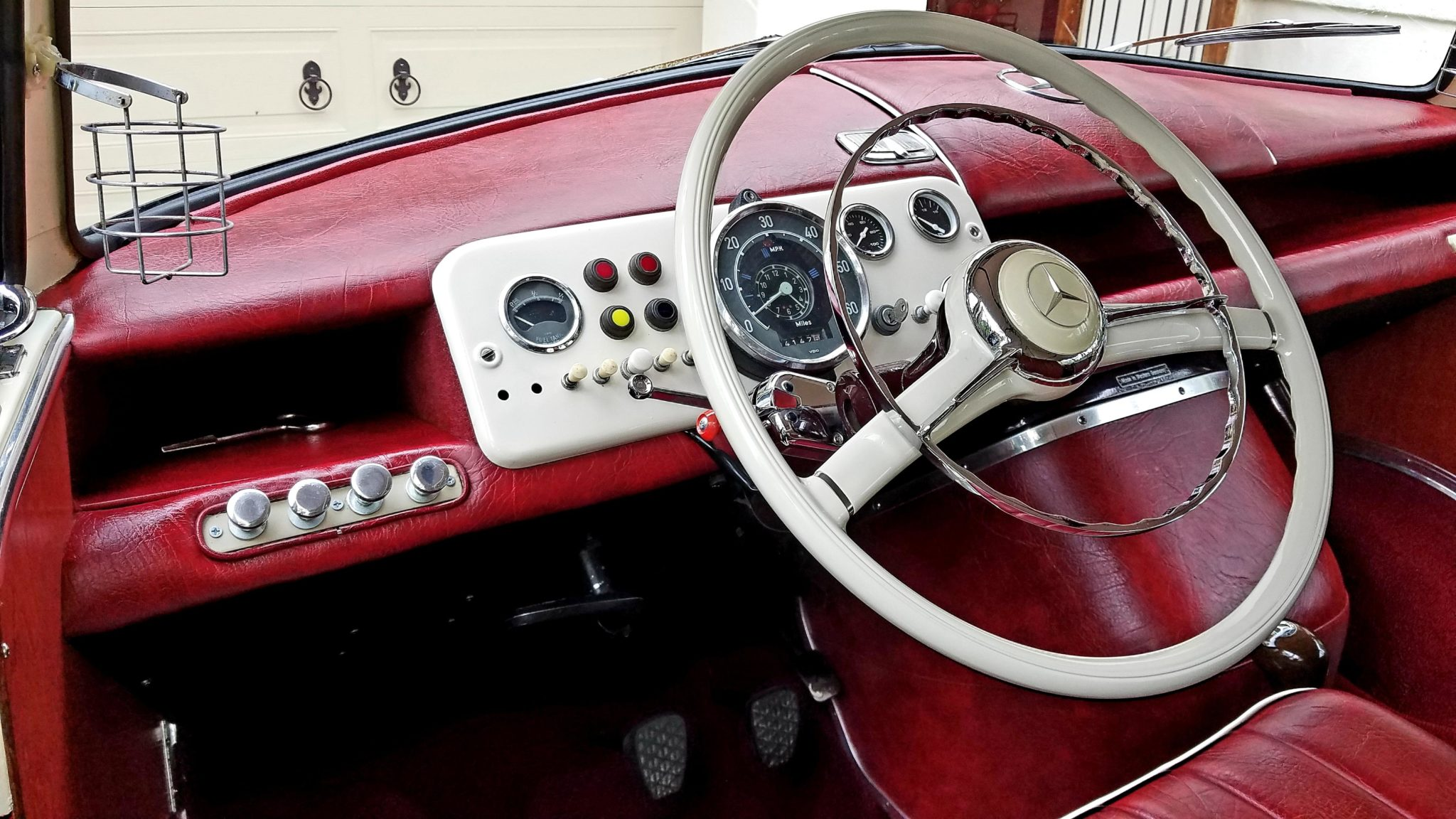 1961 Mercedes-Benz O 319 Interior Dash