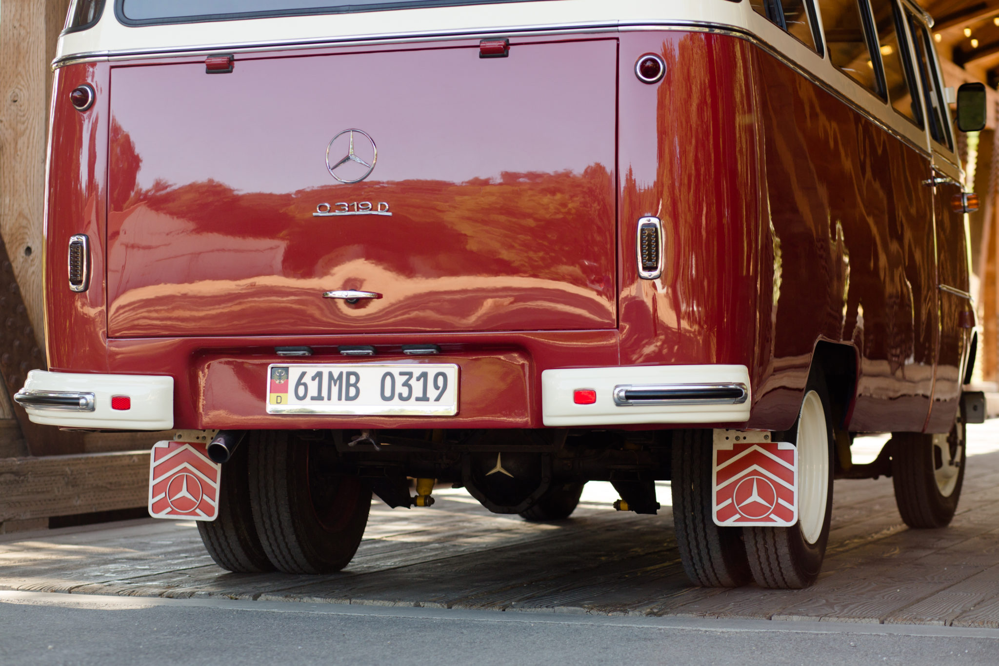 1961 Mercedes-Benz O 319 Rear