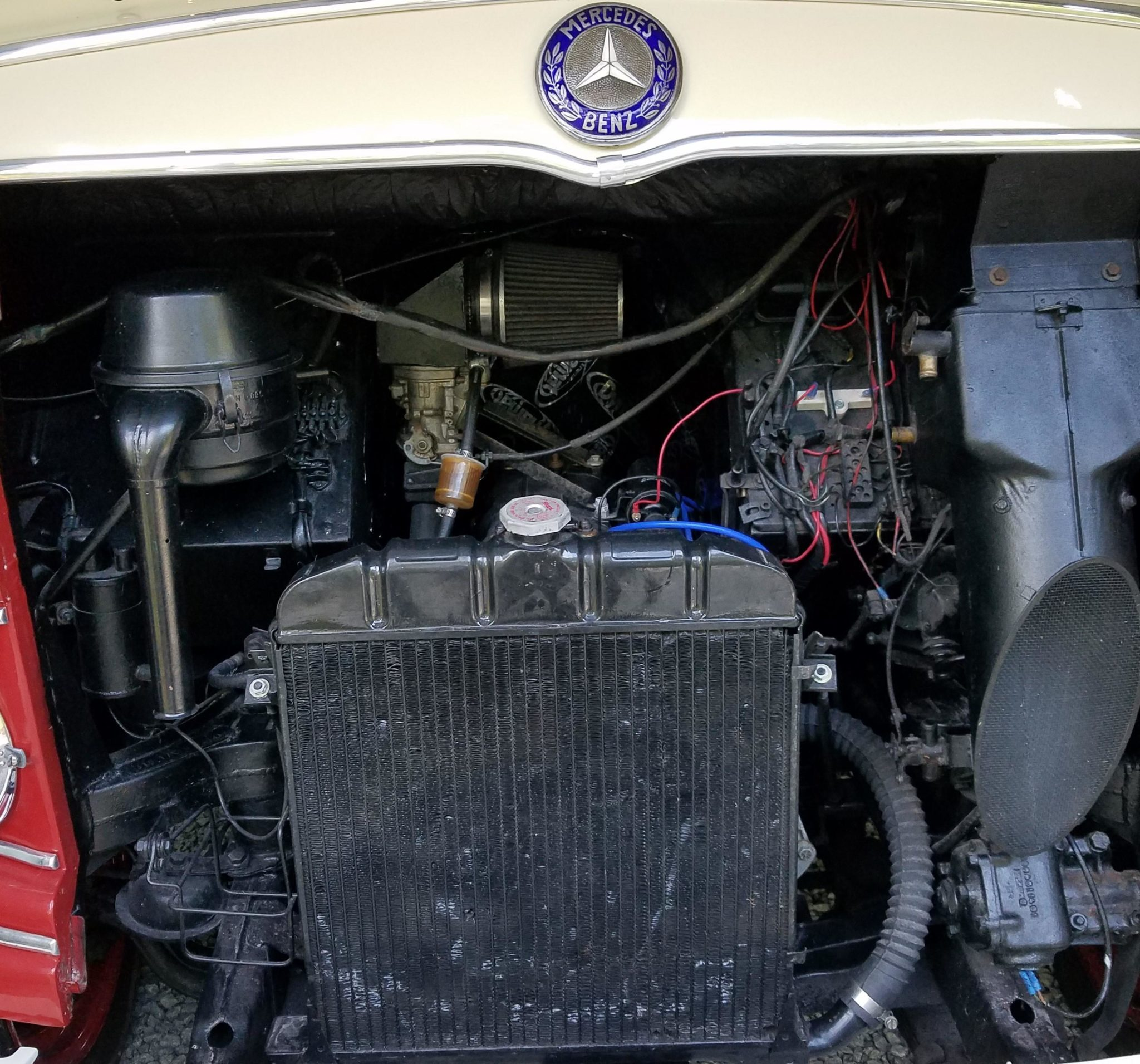 1961 Mercedes-Benz O 319 Engine