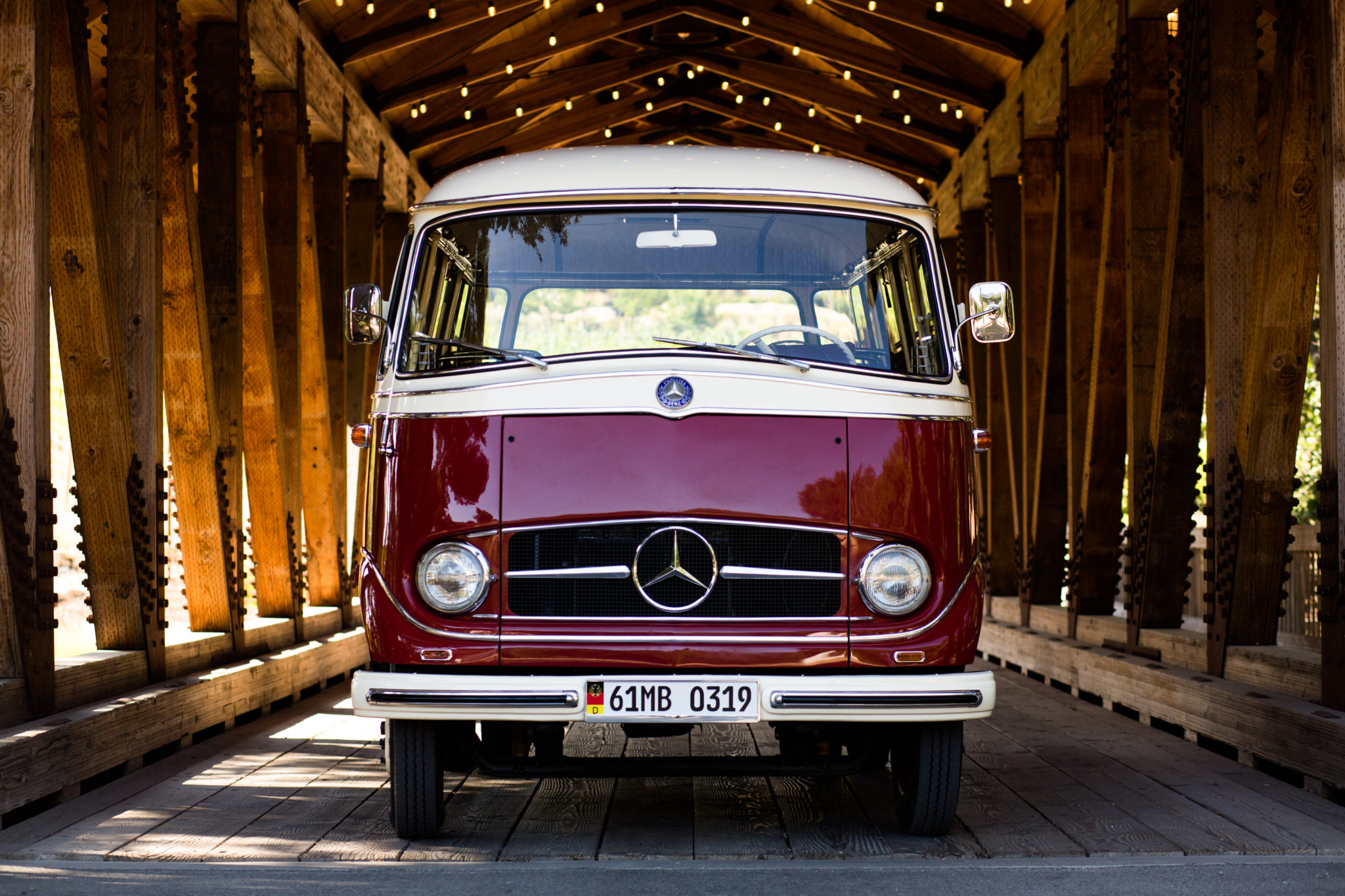 1961 Mercedes-Benz O 319 Front