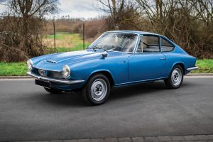 Glas 1300 gt coupe front three quarter