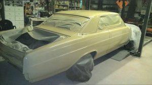 1965 Buick Skylark Paint Masking