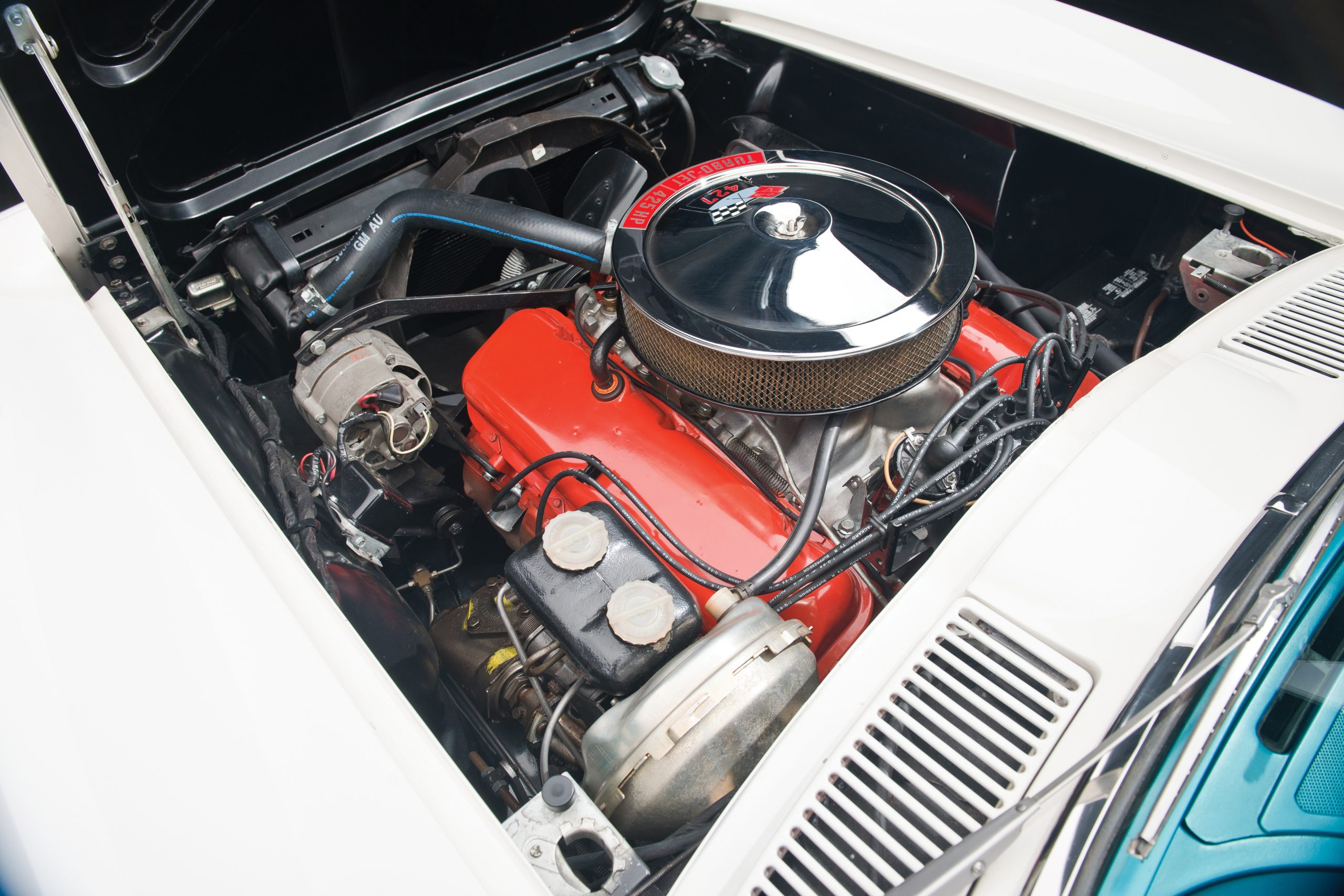 1966 Chevrolet Corvette Sting Ray 427 425 Big Tank Coupe Engine