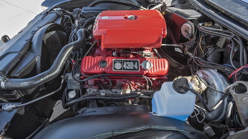 1967 Buick Riviera GS 430 V-8 engine bay Mecum