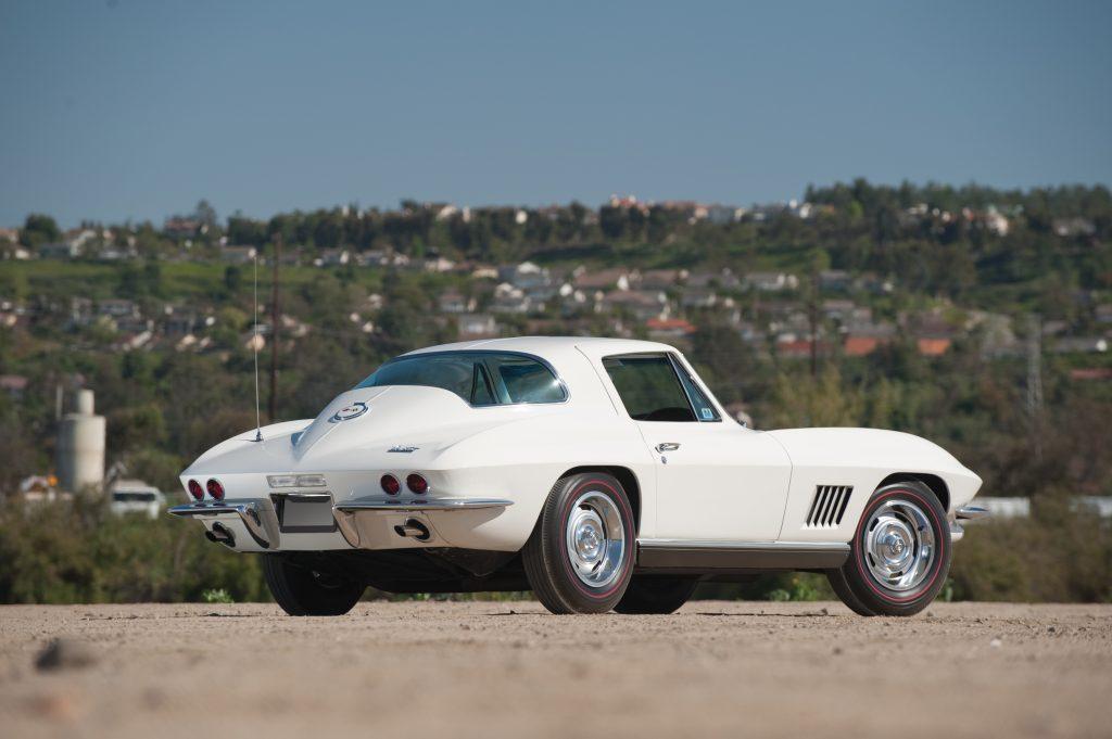 1967 Chevrolet Corvette L79 327 350 Rear Three-Quarter