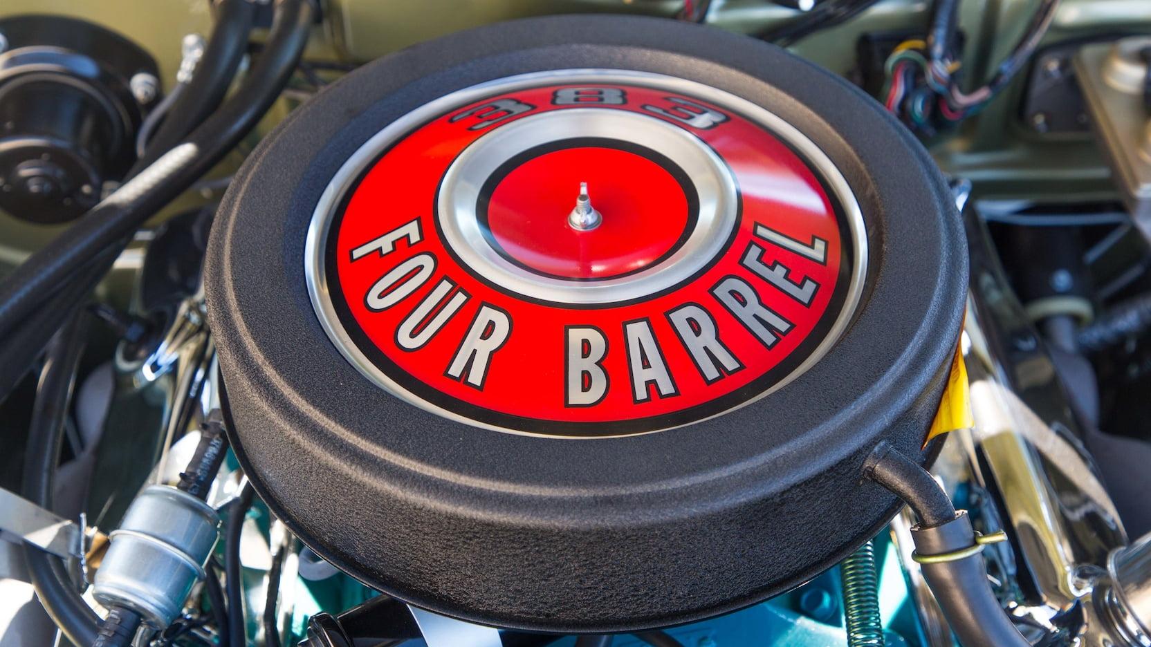 1968 Dodge Dart GTS 383 Engine Intake Filter Cover