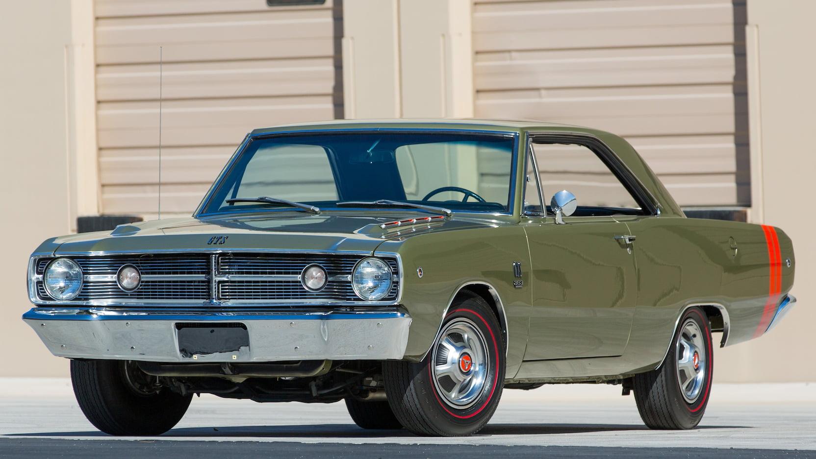 1968 Dodge Dart GTS Front Three-Quarter