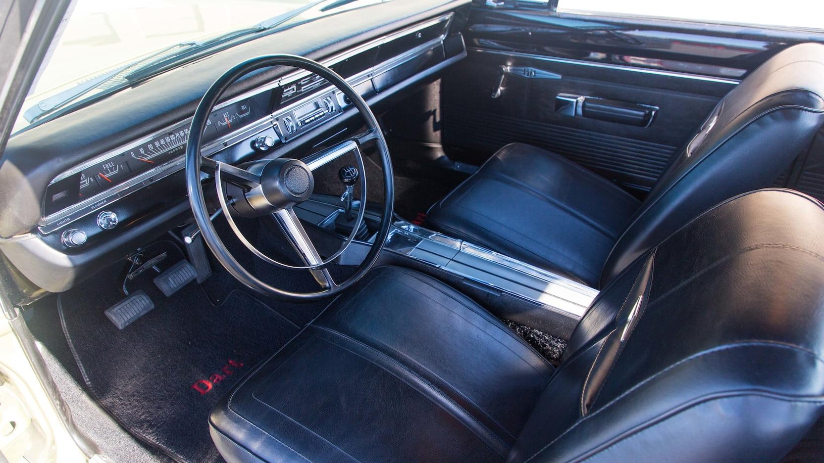 1968 Dodge Dart GTS Interior Front Dash