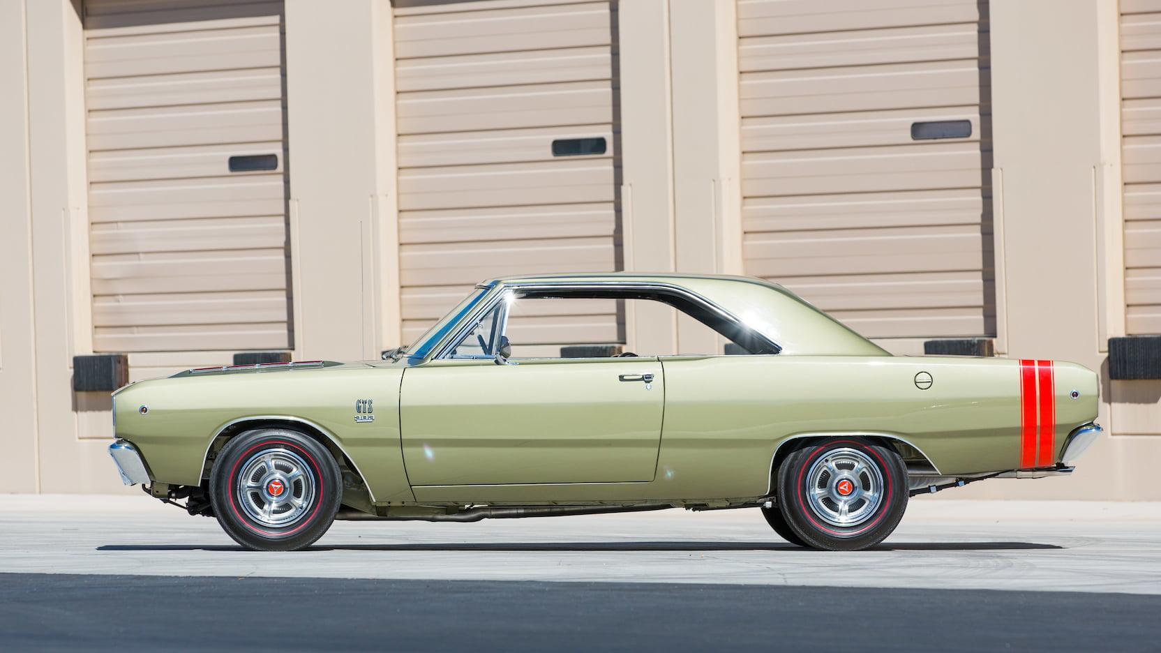 1968 Dodge Dart GTS Side Profile