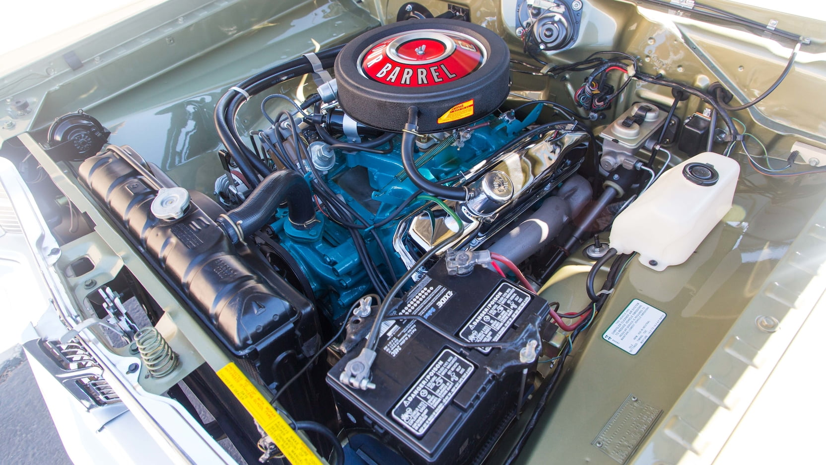 1968 Dodge Dart GTS 383 Engine