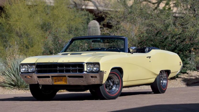 1969 Buick GS Stage 1 convertible mecum