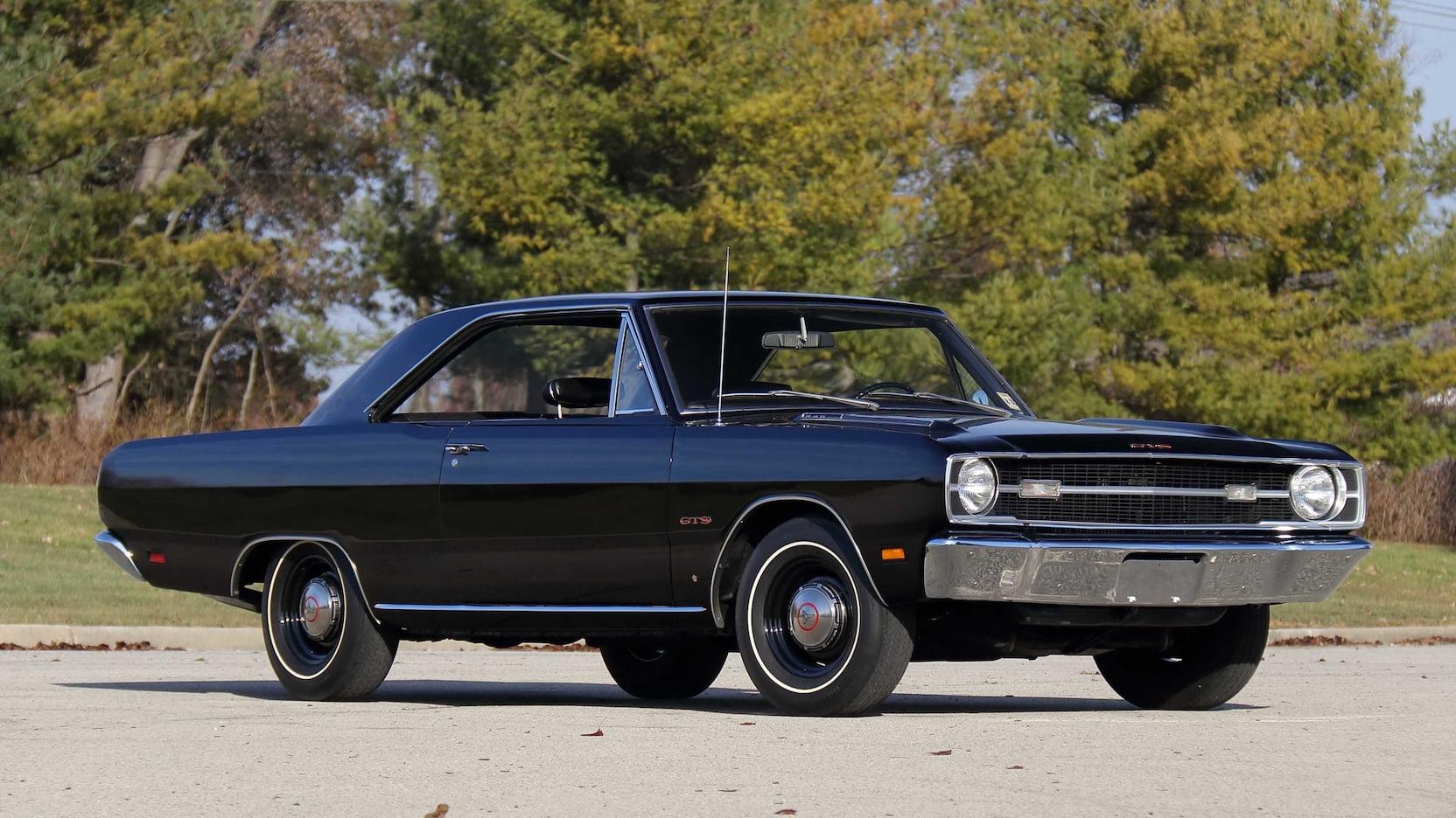 1969 Dodge Dart GTS Front Three-Quarter