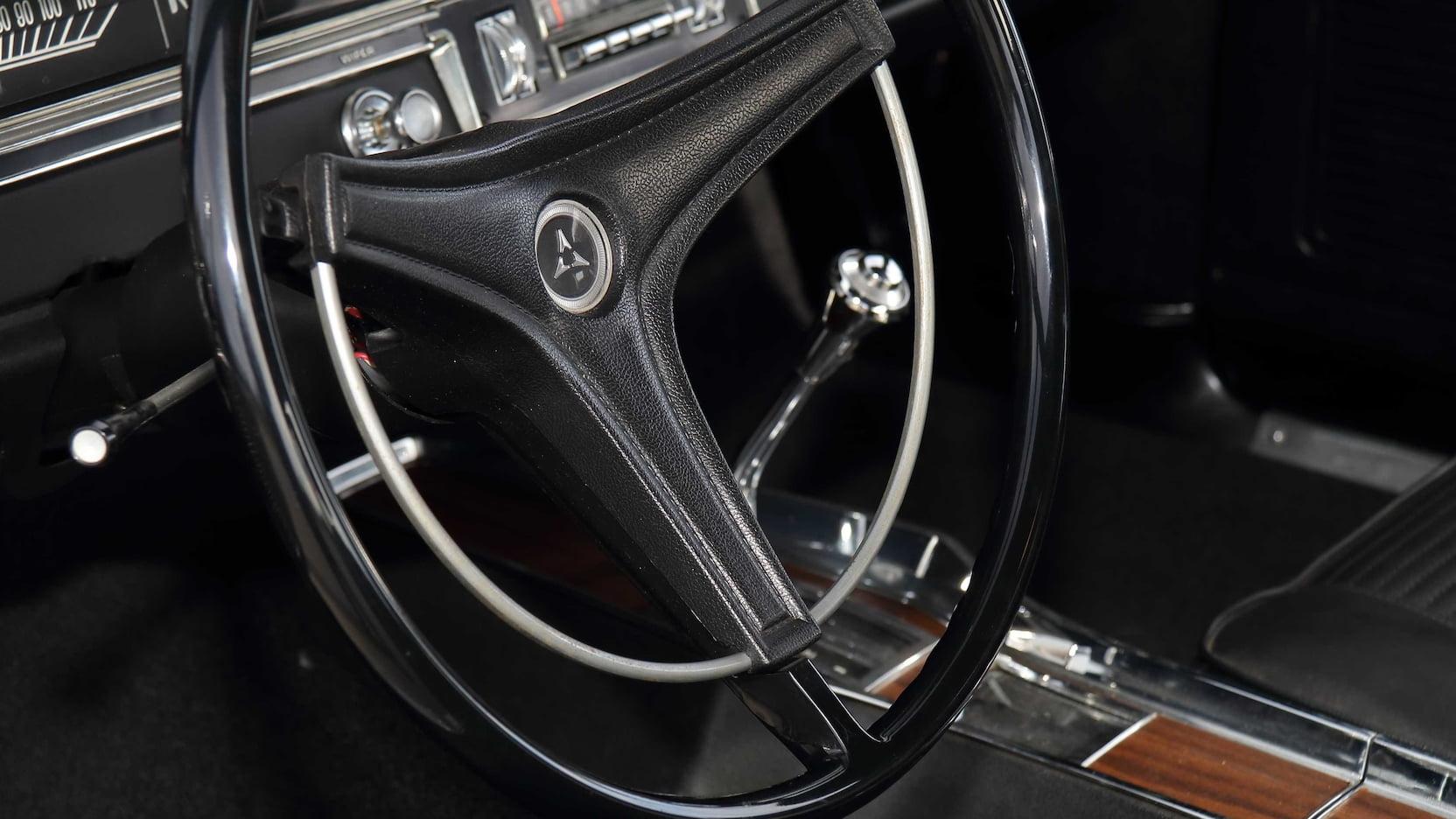 1969 Dodge Dart GTS Interior Steering Wheel