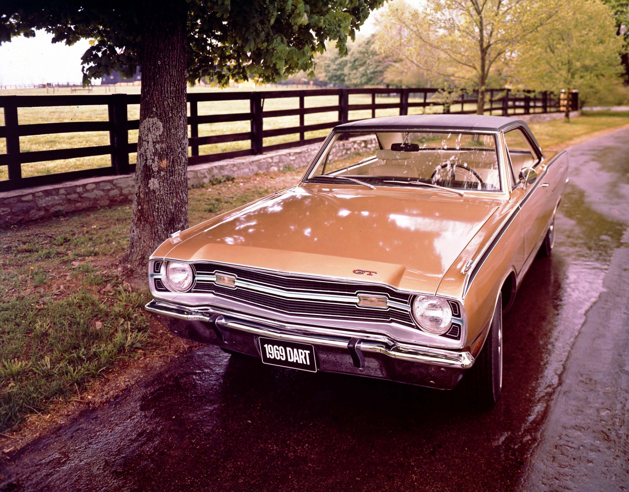 1969 Dodge Dart Sport GT Front Three-Quarter