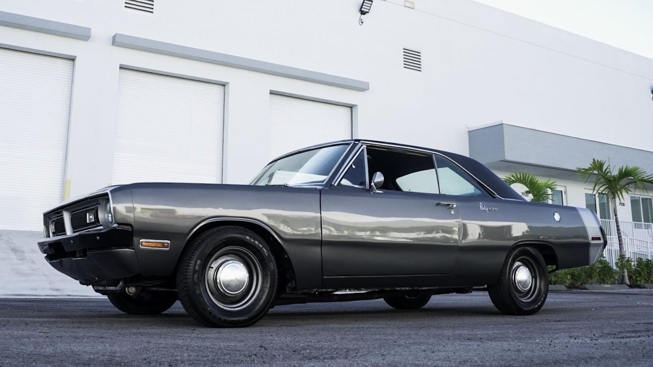 1970 Dodge Dart Front Three-Quarter