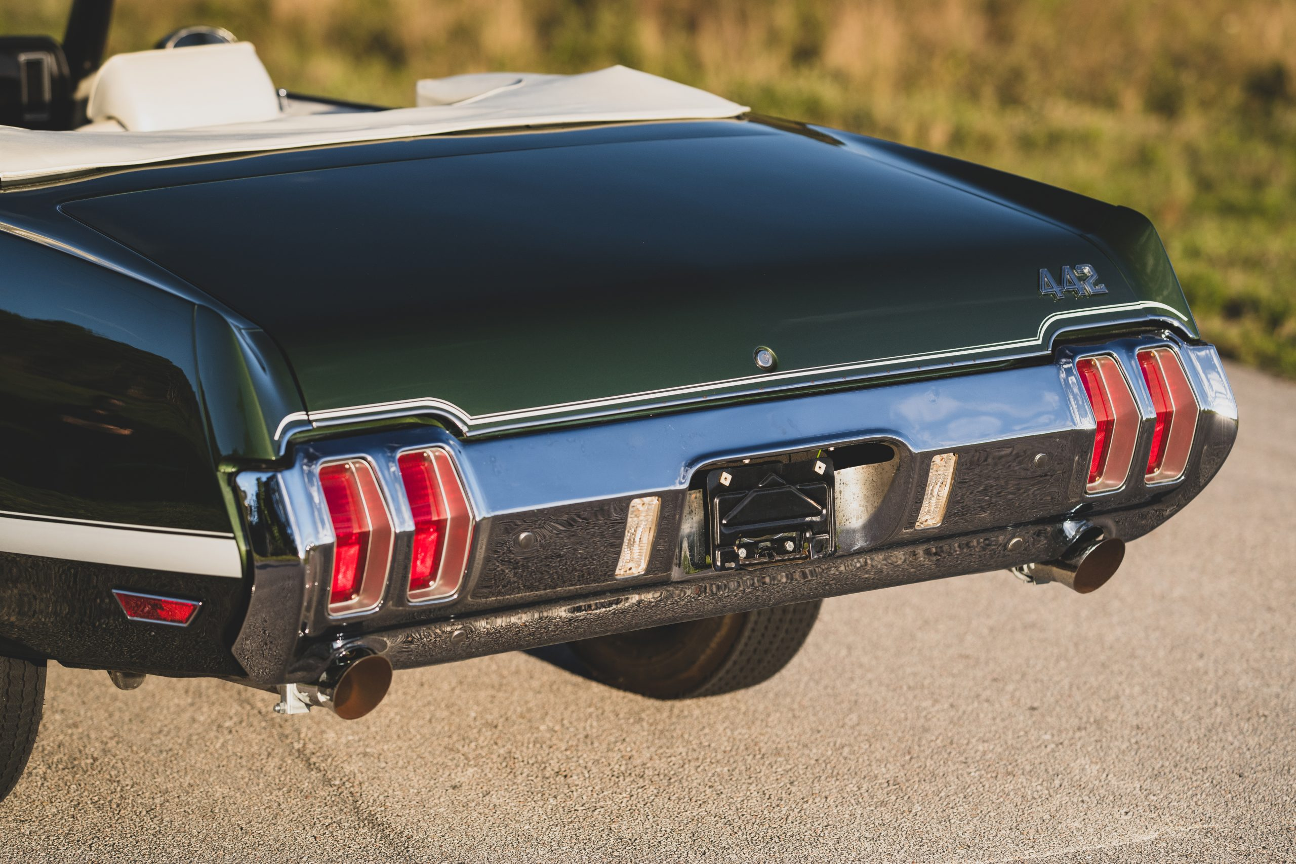 1970 Oldsmobile 442 Convertible Rear Fascia