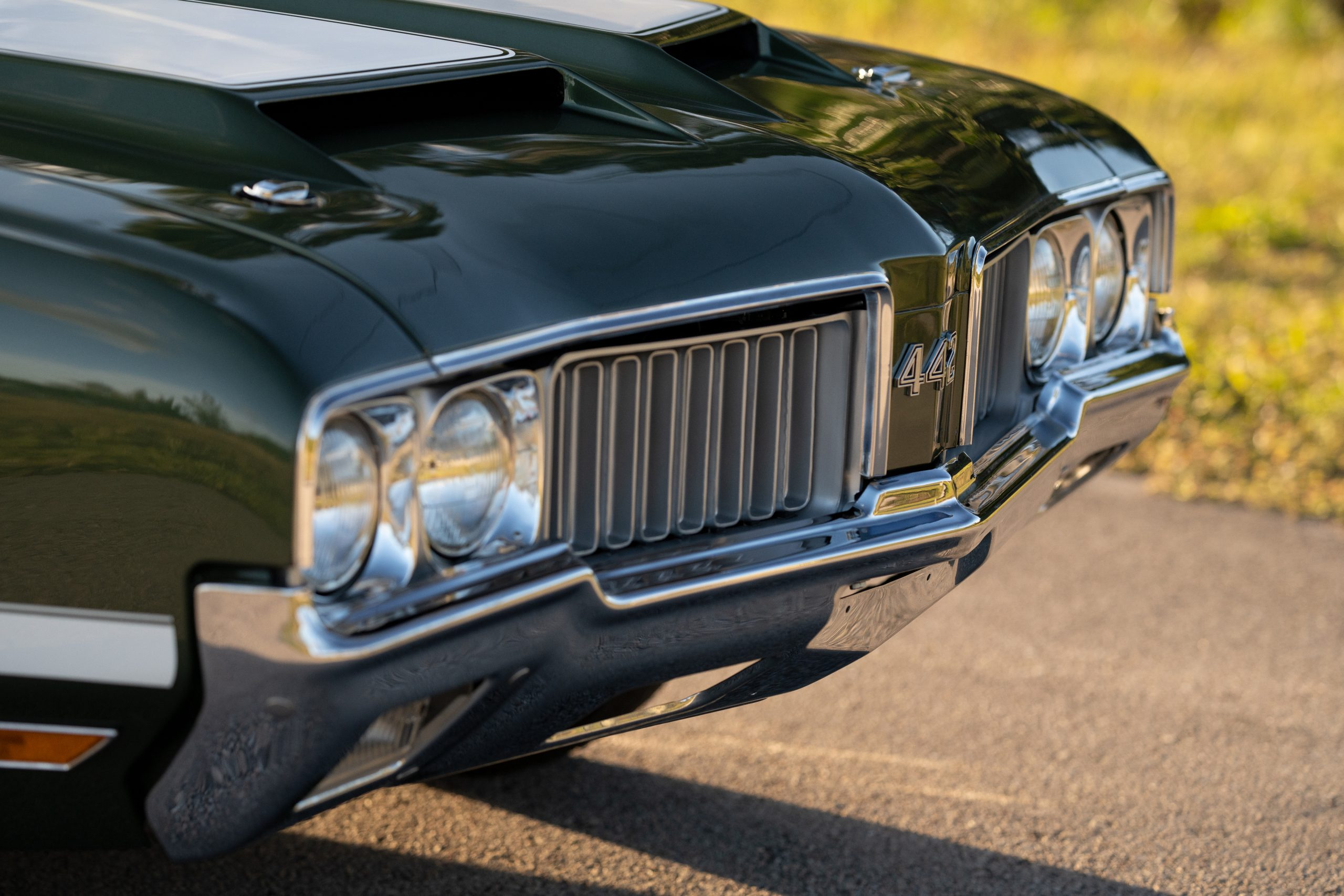 1970 Oldsmobile 442 Convertible Front End