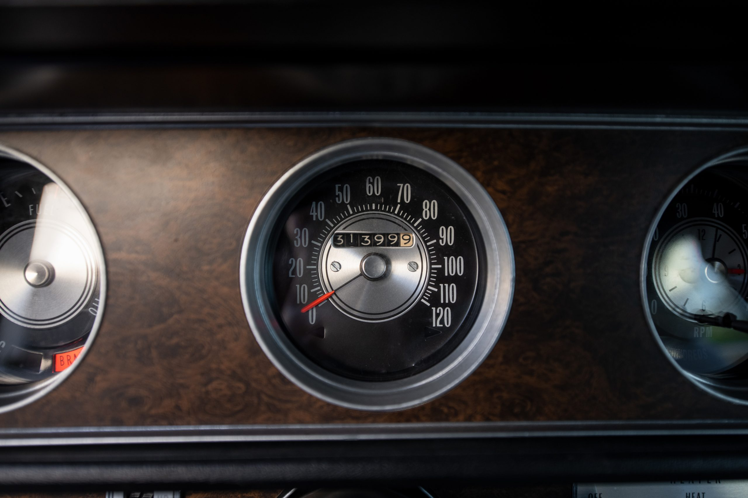 1970 Oldsmobile 442 Convertible Dash Gauge Speedometer