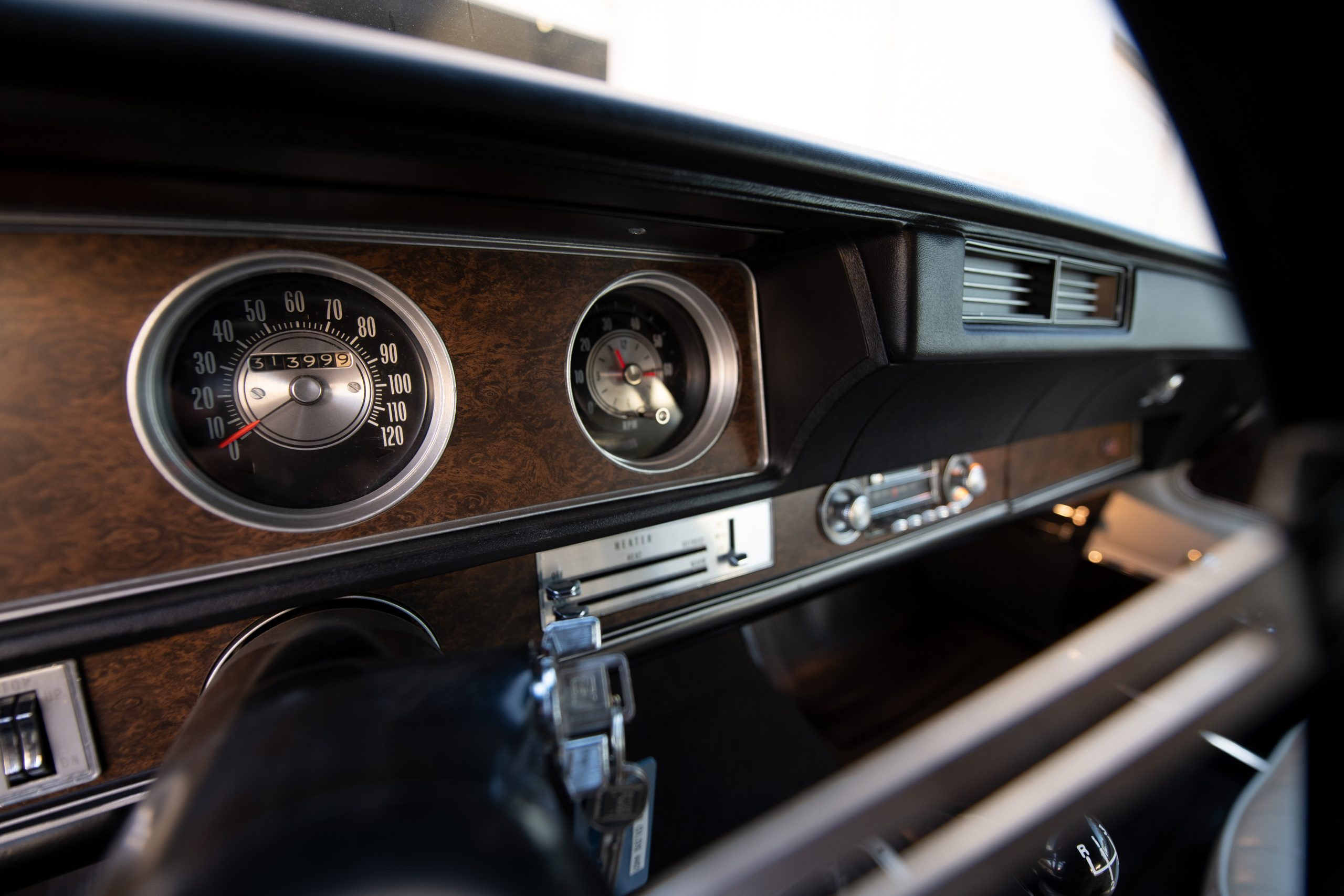 1970 Oldsmobile 442 Convertible Dash Gauges