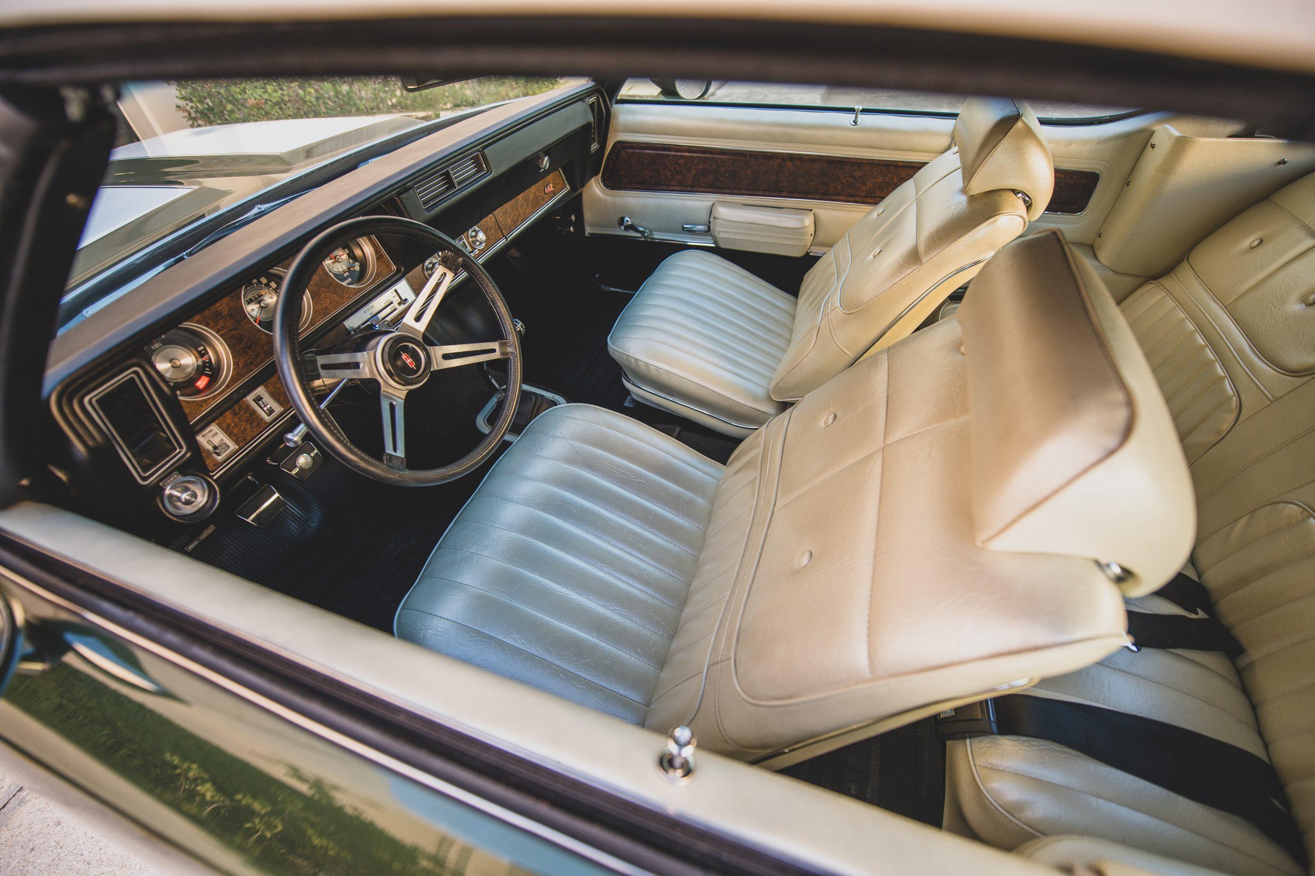 1970 Oldsmobile 442 Convertible Interior