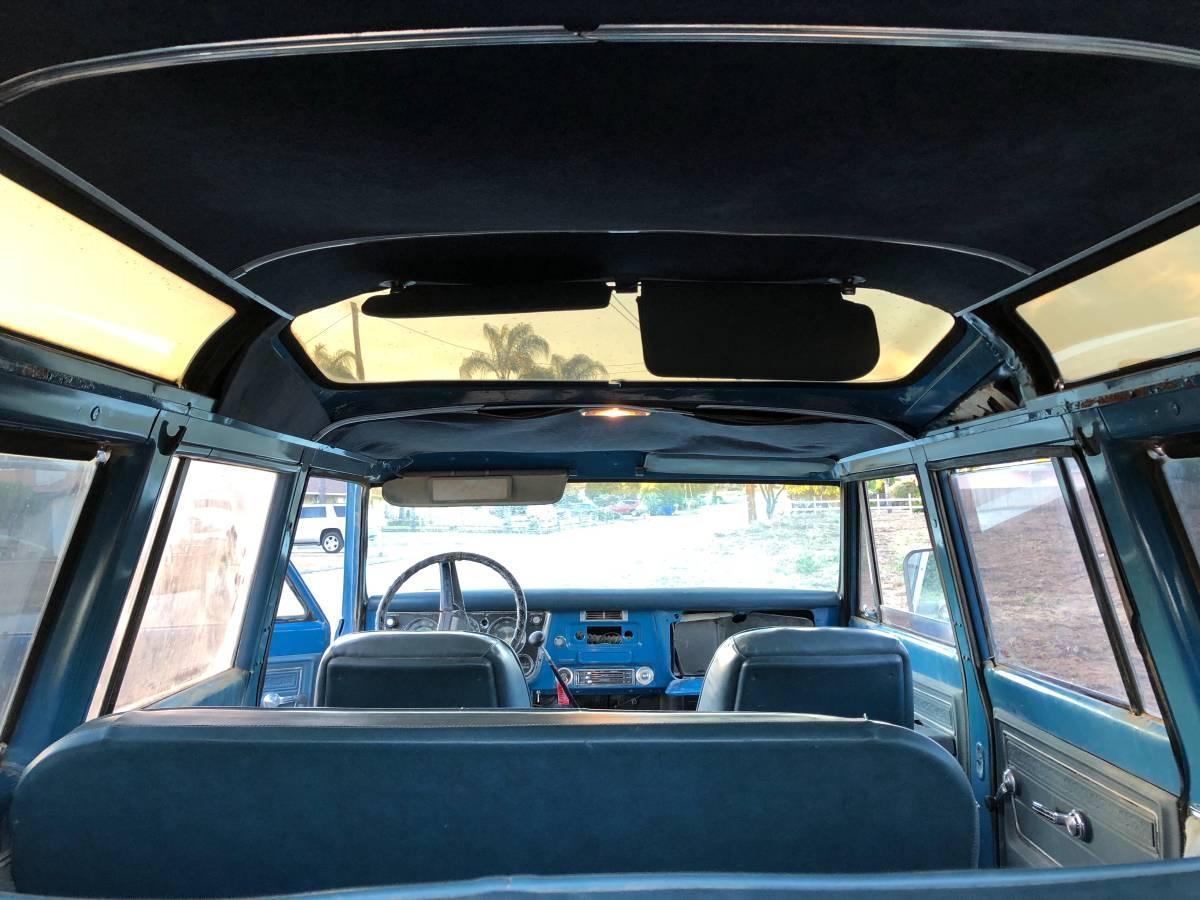 1972 GMC C2500 Vista Roof Suburban Interior Roof