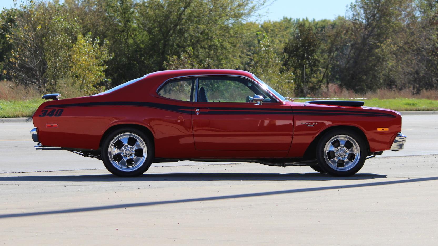 1973 Dodge Dart Side Profile