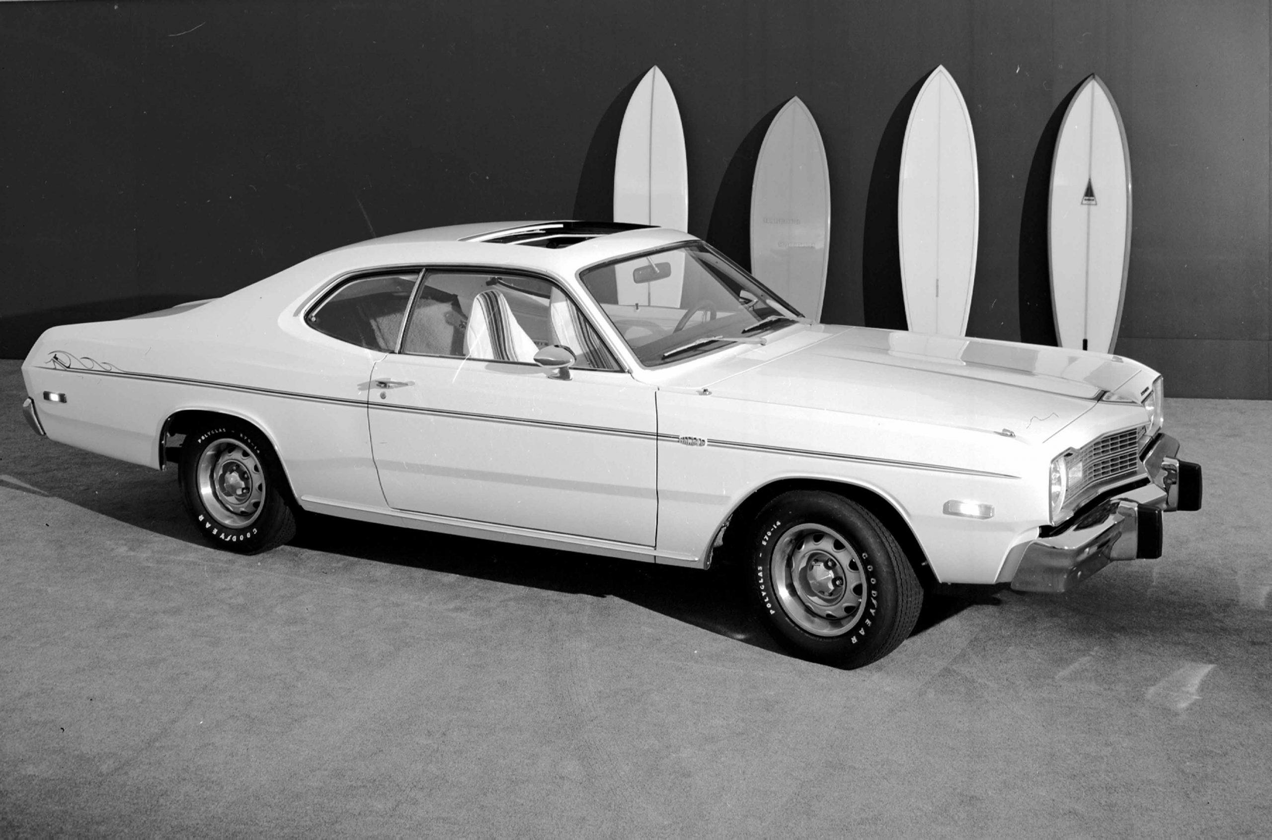 1973 Dodge Dart Sport Hang Ten Front Three-Quarter