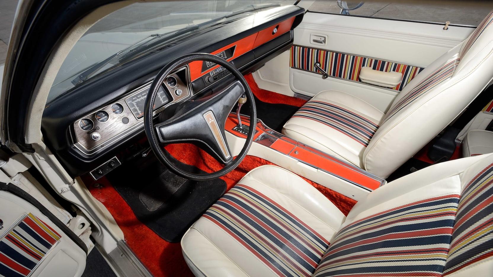 1974 Dodge Dart Hang Ten Interior