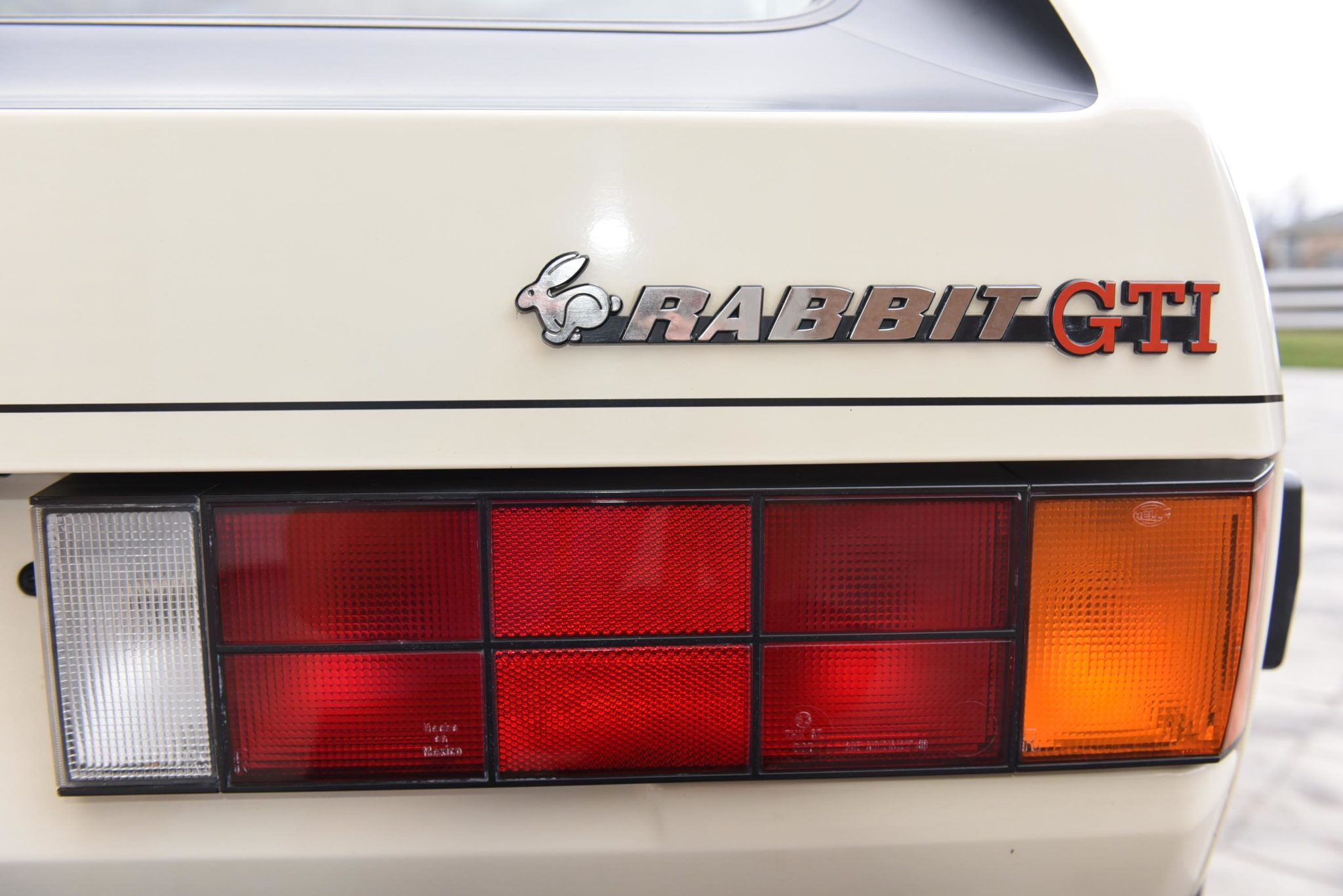 Volkswagen Rabbit GTI Callaway Turbo Stage II Badging