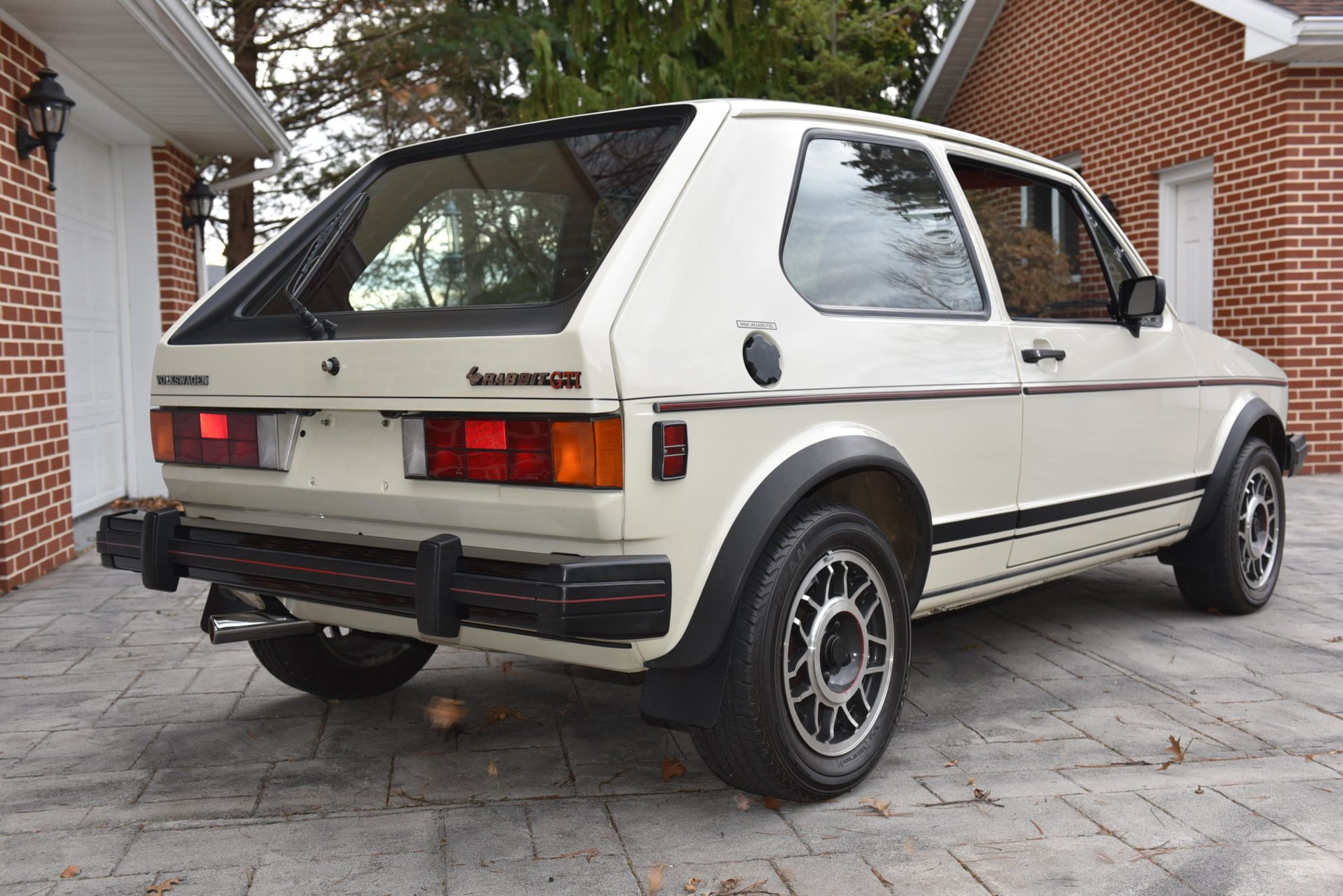 Volkswagen Rabbit GTI Callaway Turbo Stage II Rear Three-Quarter