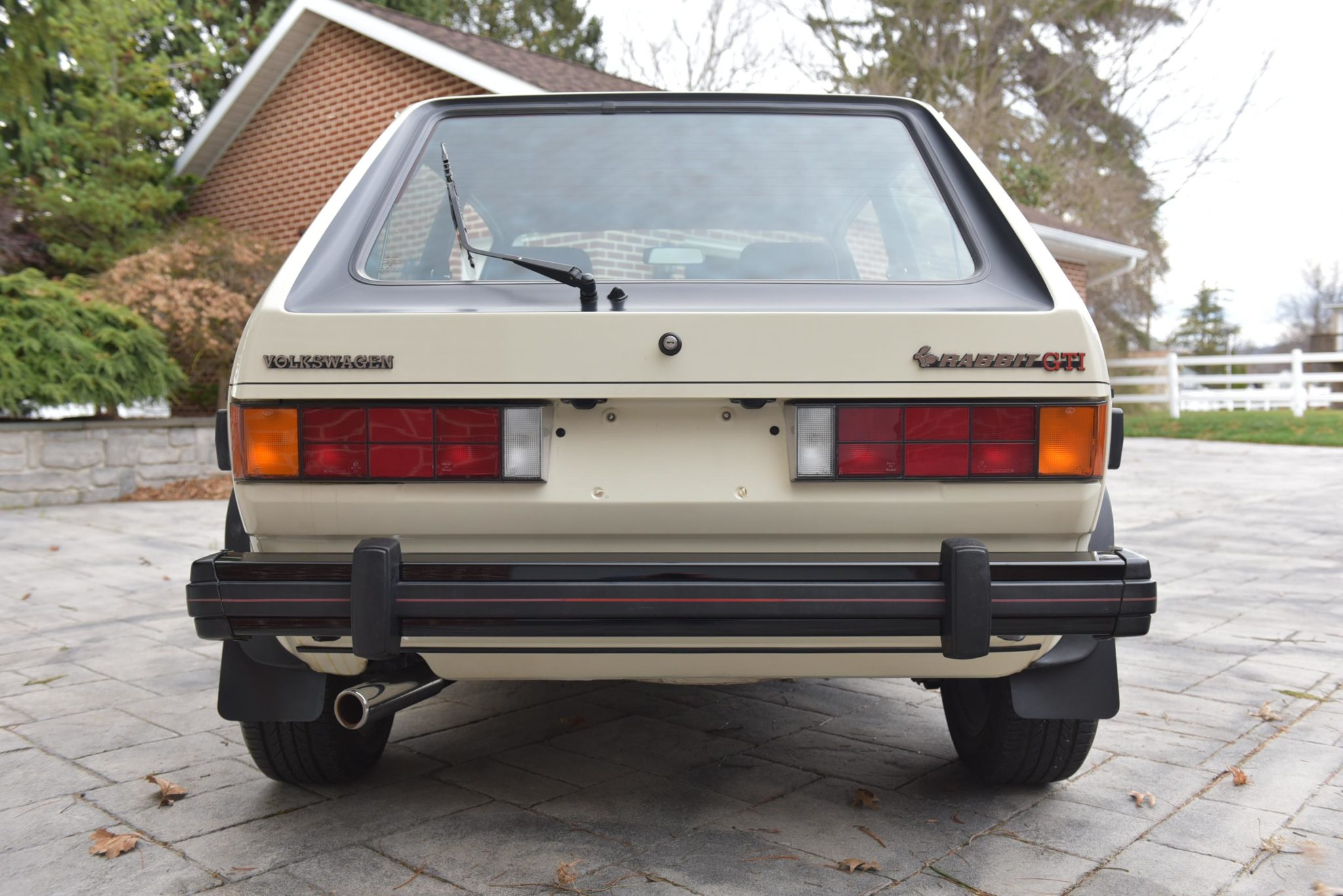 Volkswagen Rabbit GTI Callaway Turbo Stage II Rear