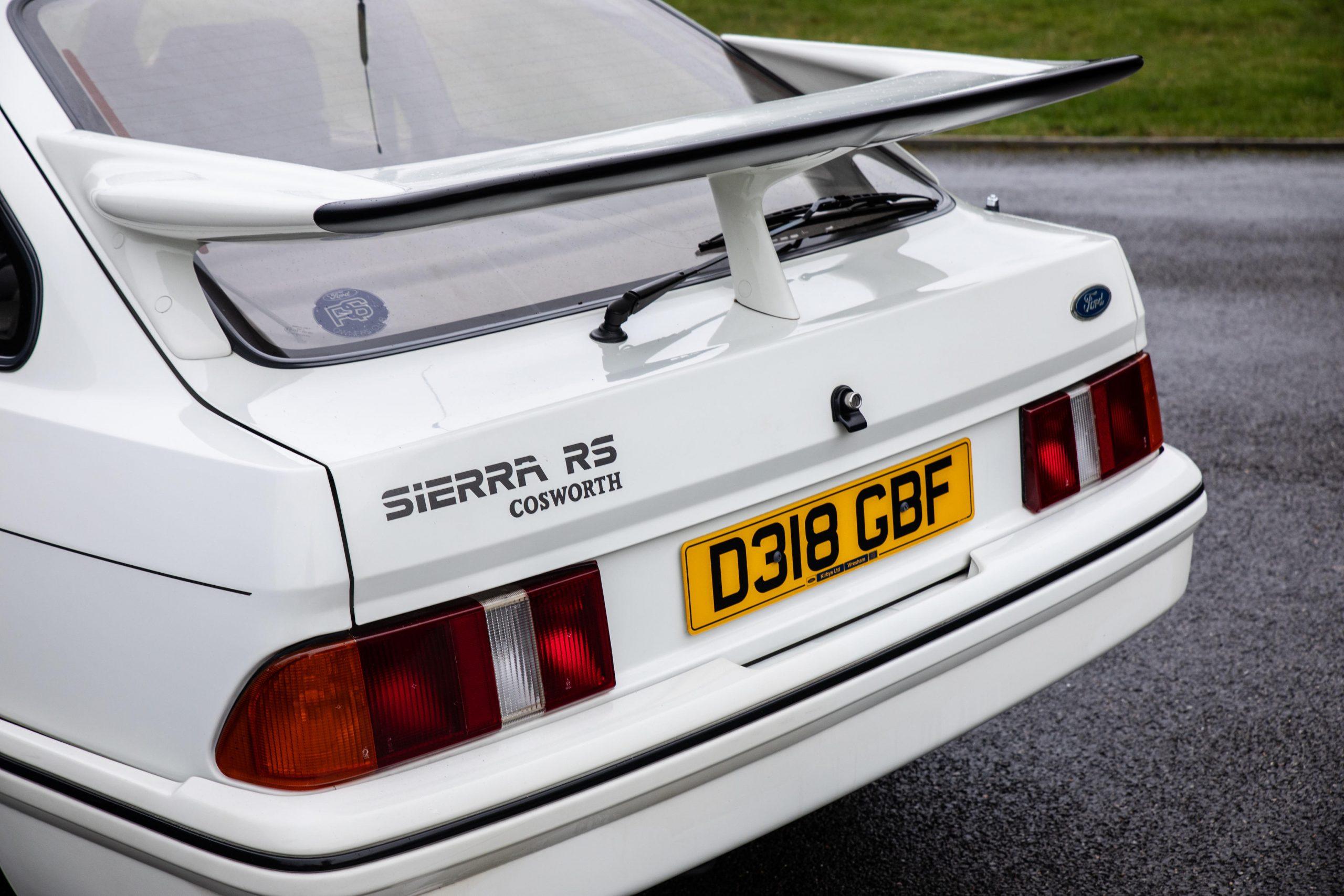 1987 Ford Sierra RS Cosworth Rear Three-Quarter