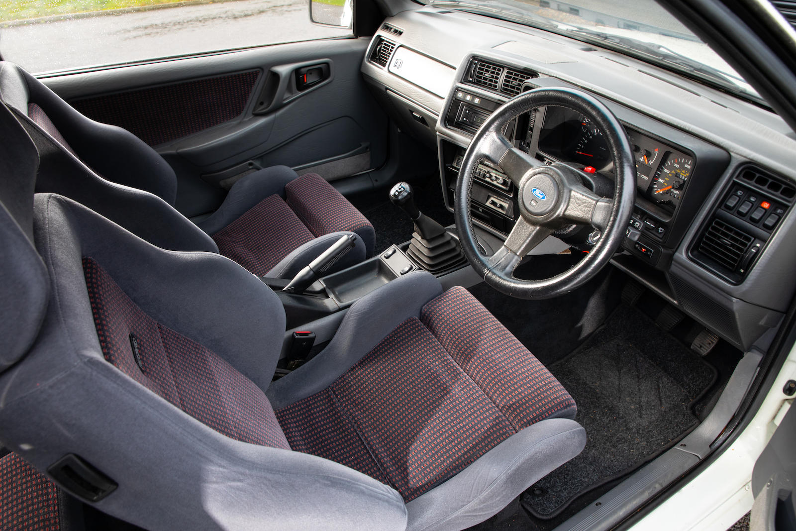 1987 Ford Sierra RS Cosworth Interior