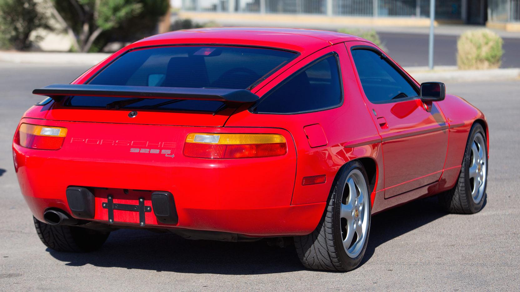 1987 Porsche 928 S4 Rear Three-Quarter
