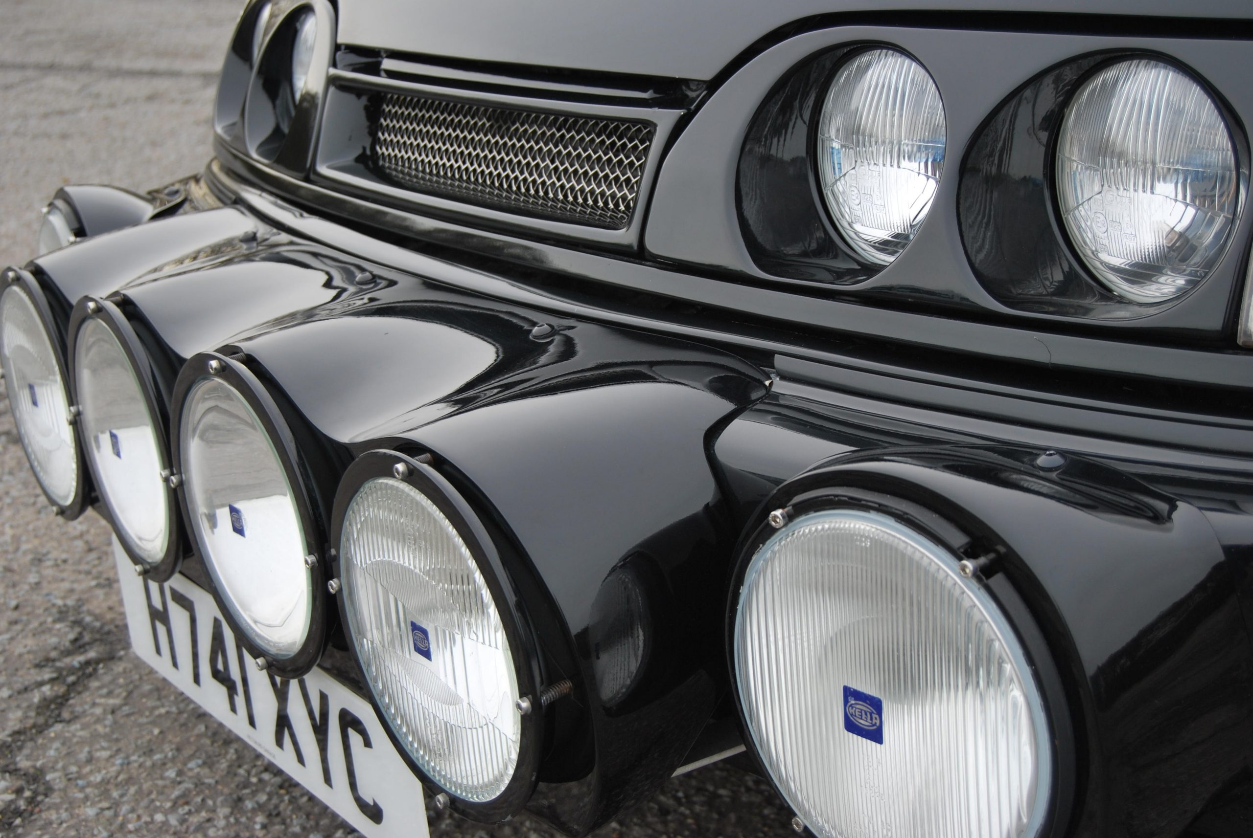 1990 Ford Sierra Sapphire RS Cosworth 4x4 Front Fascia