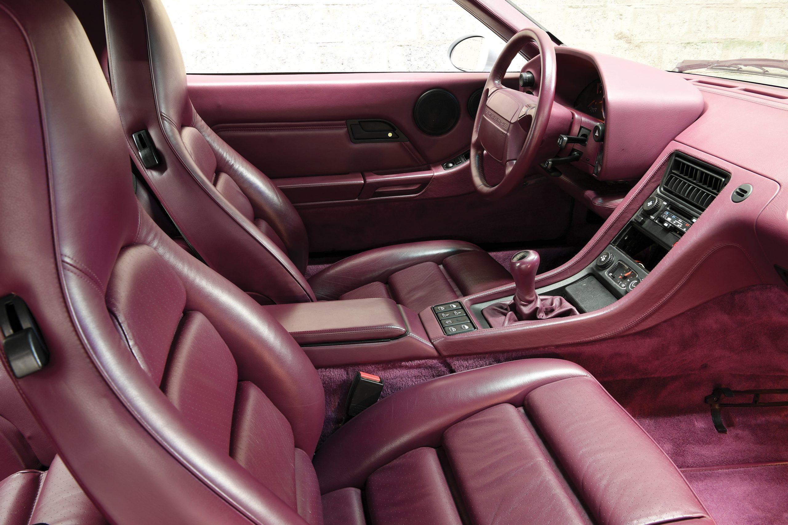 1992 Porsche 928 GTS Interior