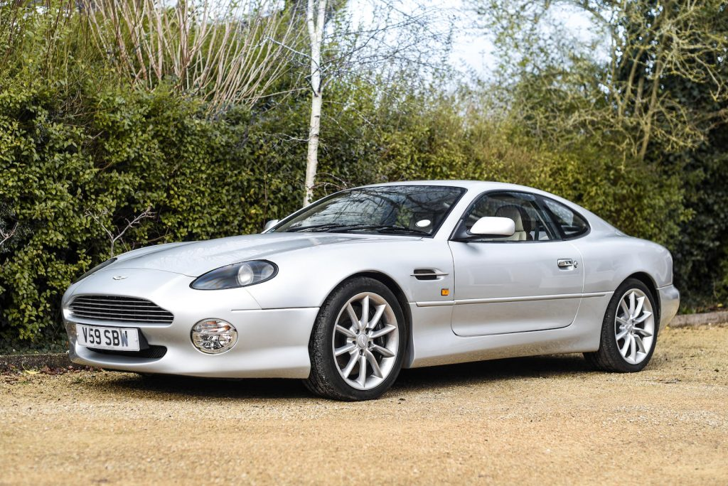 1999 Aston Martin DB7 Vantage Front Three-Quarter