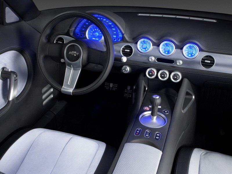 2004 Chevrolet Nomad Concept interior