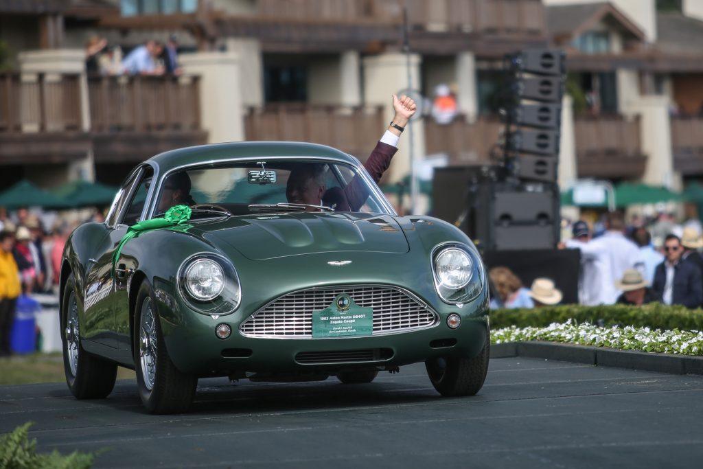 2019 Pebble Beach Concours Best in Class Aston Martin Zagato