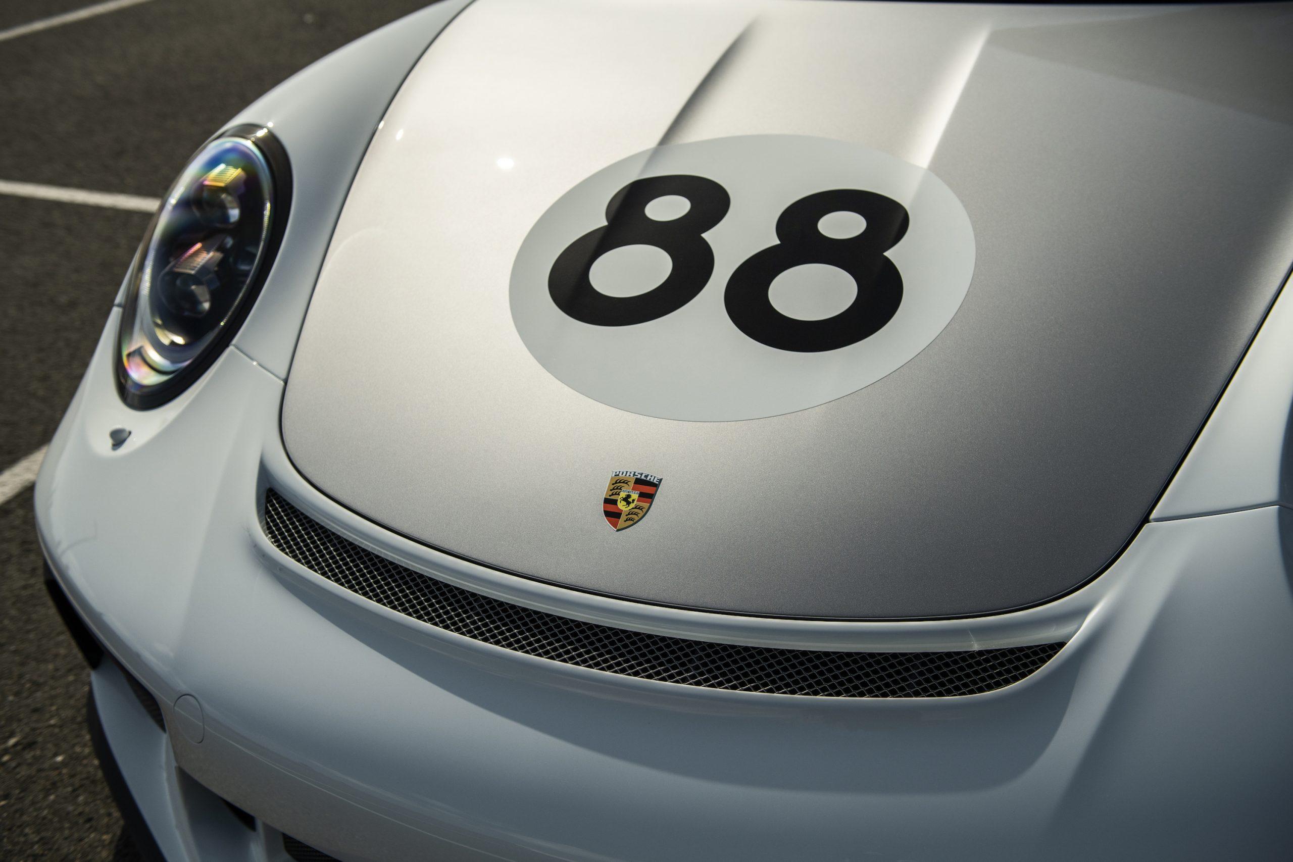 2019 Porsche 911 Speedster Heritage Design Front Hood